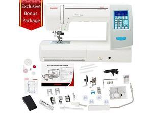 janome memory craft horizon 8200qcp special edition with exclusive bundle