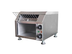 adcraft cvyt120 countertop conveyor toaster, stainless steel, 120v, nsf