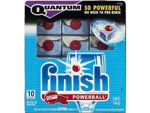 finish quantum powerball automatic dishwasher detergent  10 ct
