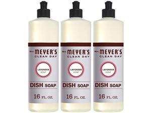 mrs. meyers clean day dish soap, lavender, 16 fl oz, 3 ct