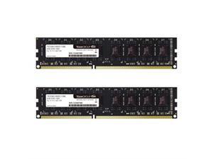 teamgroup elite ddr3 16gb kit 2 x 8gb 1600mhz pc312800 cl11 unbuffered nonecc 1.5v udimm 240 pin pc computer desktop memory module ram upgrade  ted316g1600c11dc0116gb kit 2 x 8gb