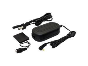 kapaxen ackdc90 ac power adapter supply kit for select canon powershot digital cameras