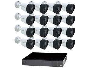 qsee 16channel 5mp dvr surveillance system with 2tb hard drive, 16camera 5mp