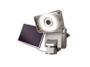 maxsa innovations 44640 silver maxsa bright motionactivated solar security light