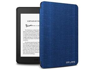 infiland kindle paperwhite 2018 case compatible with  kindle paperwhite 10th generation 6 inches 2018 releaseauto wake/sleep,royal blue
