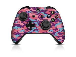 controller gear controller skin  bubble gum camo  officially licensed by xbox one