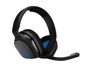 astro gaming a10 headset for xbox one/nintendo switch / ps4 / pc and mac  wired 3.5mm and boom mic by logitech  bulk packaging  blue/black