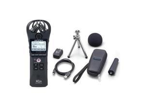 zoom h1n handy recorder  with zoom aph1n accessory pack