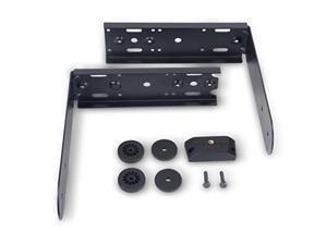 qsc k82na powder coated steel yoke mount black
