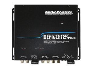 audiocontrol the epicenter plus black bass restoration processor with oem interface