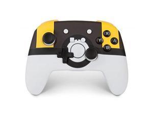 powera enhanced wireless controller for nintendo switch  pokemon ultra ball  nintendo switch
