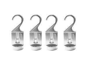 cooks standard 02567 pot rack solid cast swivel hooks, set of 4, silver