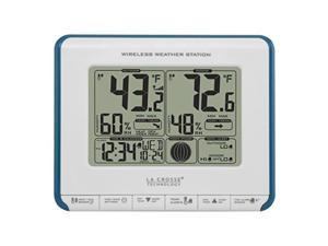la crosse technology 3081711bl wireless weather station with heat index and dew point