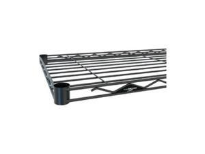 intermetro 18x36inch shelf, black