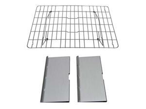brod and taylor stainless steel shelf kit