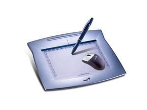 genius mousepen 8 x 6inch graphic tablet for home and office