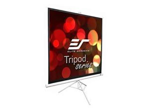 elite screens tripod series, 99inch 1:1, adjustable multi aspect ratio portable indoor outdoor projector screen, 8k / 4k ultra hd 3d ready, 2year warranty, t99nws1