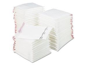 """sealed air jiffy tuffgard extreme bubble cushioned mailers, 2, 8 1/2"""" x 12"""", white, box of 50"""