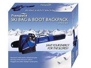 transpack alpine sport ski bag & boot backpack set