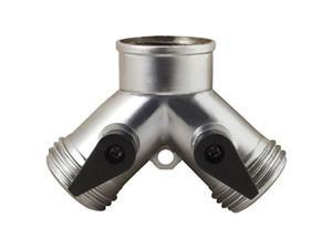 melnor metal 2way hose valve