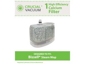 1 Bissell Vacuum Cleaner Water-Calcium Filter; Fits The Bissell Vacuum Steam Mop 218-5600; Part # 2185600 (218-5600); Designed & Engineered by Crucial Vacuum