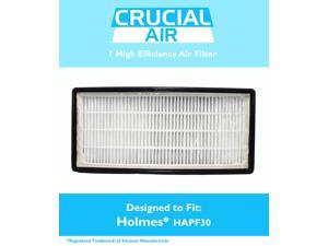 1 Holmes HEPA Air Cleaner Filter Designed To Fit Holmes, HoneyWell, VICKS; Compare To Filter Part # 16216, HRC1 & Holmes Part # HAPF30, HAPF30D, HAPF600D