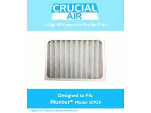 1 Think Crucial® Air Purifier Filter Compatible with Hunter® Brand Filter Part # 30920, Models 30050, 30055, 30065, 37065, 30075, 30080, 30177