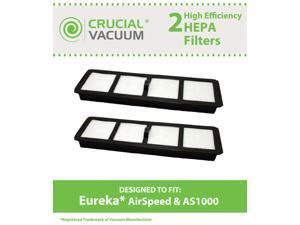 2 Eureka EF6 HEPA Filters, Part # 83091-1, Designed & Engineered by Crucial Vacuum