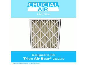 Trion Air Bear Filter 255649-102 Pleated Furnace Air Filter 20x25x5 MERV 8