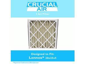 Lennox 20x25x5 Merv 8 Replacement Air Filter Fits X6673