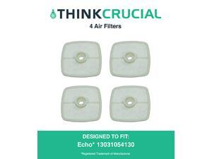 4 Echo 13031054130, Stens 102-565 & Mantis 130310-54130 Air Filters, Designed & Engineered by Think Crucial