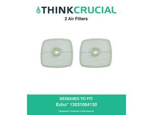 2 Echo 13031054130, Stens 102-565 & Mantis 130310-54130 Air Filters, Designed & Engineered by Think Crucial