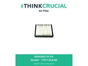 Honda 17211-ZL8-023, 17211-ZL8-000,17211-ZL8-003, Stens 102-713, Napa 7-08383 Air Filter, Designed & Engineered by Think Crucial
