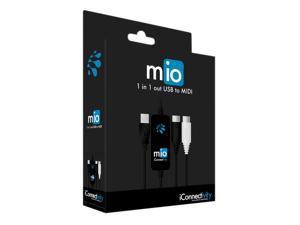 iConnectivity MIDI-MIO 1x1 USB MIDI Interface