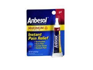Anbesol Instant Pain Relief Gel Maximum Strength - 0.33 oz