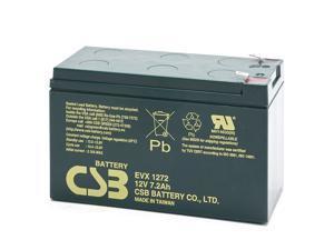EVX1272 F1 CSB Battery 12V 7.2Ah Deep Cycle SLA Battery