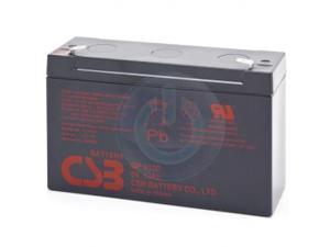 CSB GP6120 6V 12Ah F1 Battery