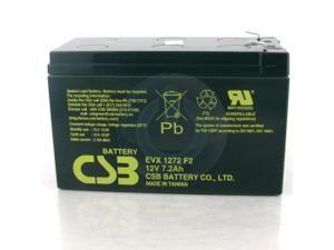 EVX1272 F2 CSB Battery 12V 7.2Ah Deep Cycle SLA Battery