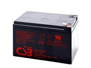 CSB GP12120 12V / 12.0 AH Sealed Lead Acid Battery w/ F2 Terminal