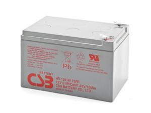 CSB Battery 12V 51W High Rate SLA Battery - FR