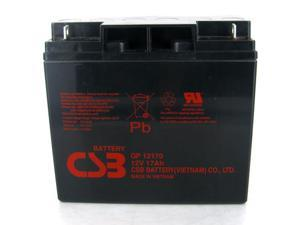 CSB GP-12170 12V/17.0 AH Sealed Lead Acid Battery-NB Terminal