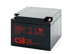 CSB GP12260 12V/26.0 AH Sealed Lead Acid Battery-NB Terminal