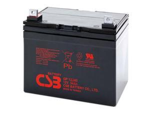 CSB GP12340 12V/34.0 AH Sealed Lead Acid Battery-NB Terminal