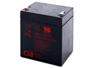 CSB GP1245 12V/4.5AH Sealed Lead Acid Battery-F1 Terminal