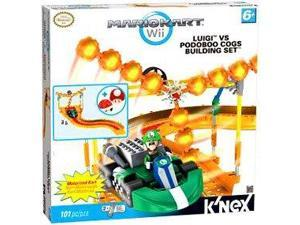 Mario Kart Wii KNEX Exclusive Building Set #38438 Luigi vs. Podoboo Cogs