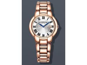 Raymond Weil Jasmine Silver Dial Rose Gold PVD Steel Ladies Watch 5229-P5-01659