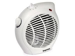 Impress IM-701 1500 watt 2 Speed Fan Heater with Adjustable Thermostat