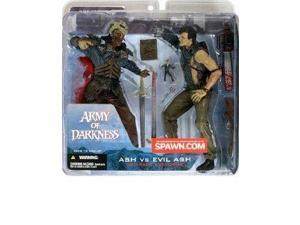 Spawn Army of Darkness Ash vs Evil Ash Two Pack Exclusive