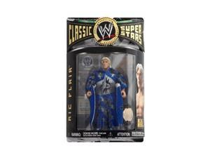 WWE - Classic Super Stars - Ric Flair - Collector Series #9 - Wrestlemania Ticket - Robe & Championship Belt - Limited E