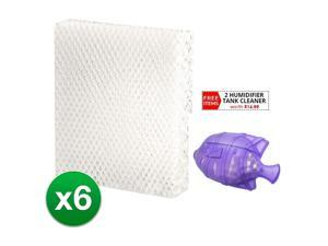 Replacement Humdifier Filter Type T Fits Honeywell HEV-615 Humdifier-6 pack